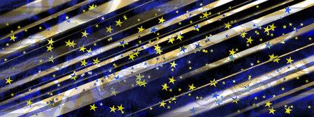 Festive background with diagonal stripes and stars. Reklamní fotografie