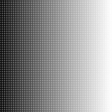 Halftone tiles gradient geometric art eps10 vector illustrarion. Ilustrace