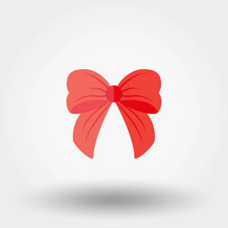 Bow icon for web and mobile application. Vector illustration on a white background. Flat design style Illustration
