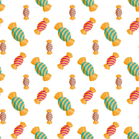 Candy. Seamless pattern