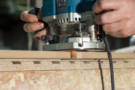 electric material: man electric hand router handles material