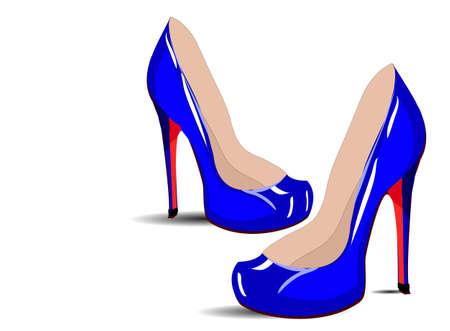 stilettos: Pair of shoes