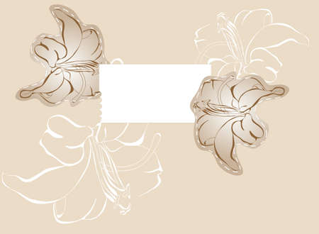 Vector background Stylish floral background  Vector