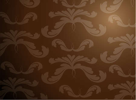 Stylish floral background  Vector  Vector