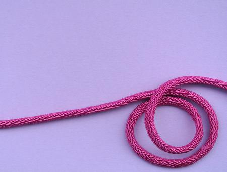 pink cord Stock Photo