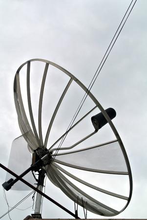 Satellite dish Stock Photo