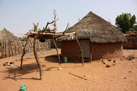 provisional: African village huts