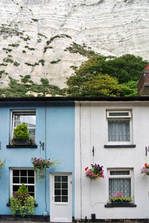 dover: Dover home facade Stock Photo