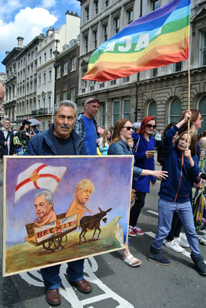 March for Europe, London, UK - 2 July 2016