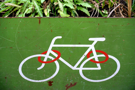 signage for bicycle