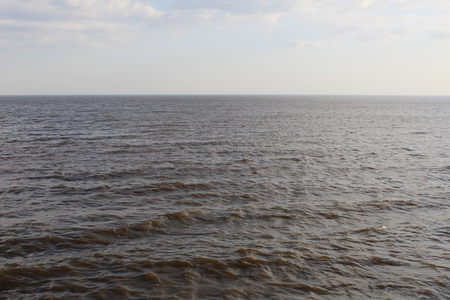 lake with waves