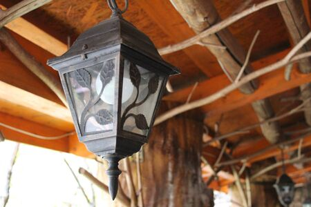 vintage lantern Imagens