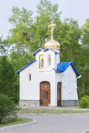 sacred source: Source Blessed Virgin Mary at the Church of Serafim Sarovsky, Khabarovsk, Russia