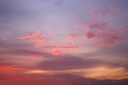 evening sky: A beautiful evening sky with clouds Stock Photo