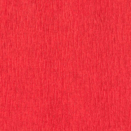 The texture of red corrugated paper. Abstract close up background, seamless Stockfoto