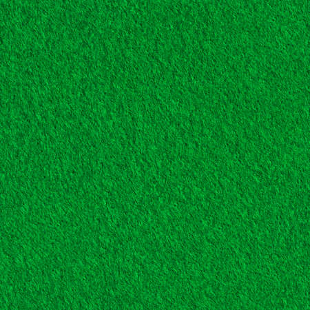 Green felt material texture. Bright seamless background
