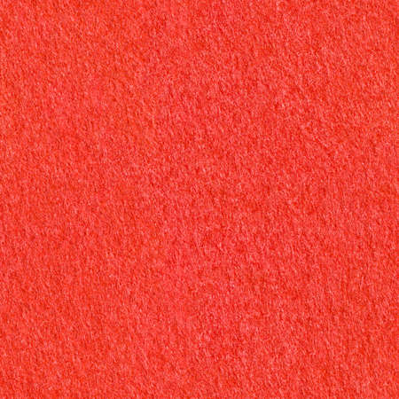 Red felt material texture. Bright seamless background Stockfoto