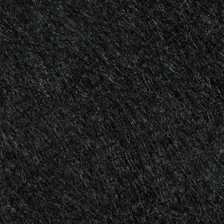 Black felt material texture. Colorless seamless background