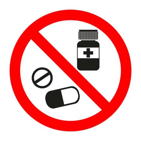Sign for medicine Ilustração