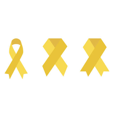 Yellow Doodle Lace Commemorating International Childhood Cancer Day