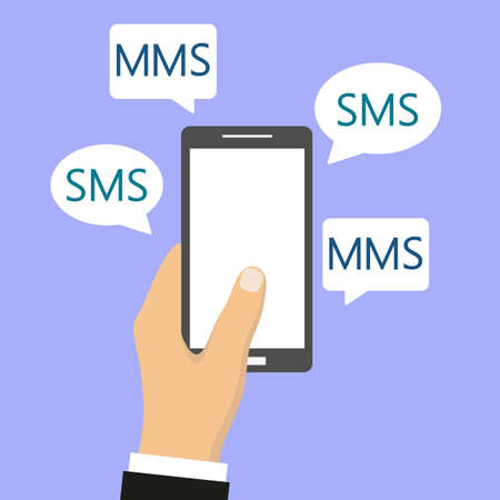 phone in sms and mms messages