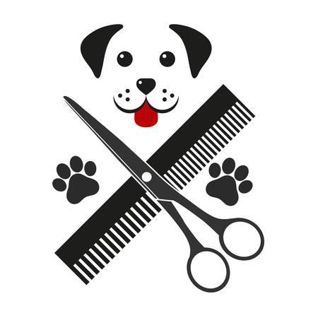 shearing animal with dog head Standard-Bild - 126547386
