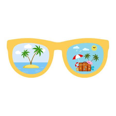 Vacation summer. Summer season