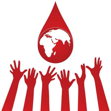 World blood donor day 일러스트