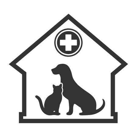 Veterinary medicine hospital or pet shop for animals.