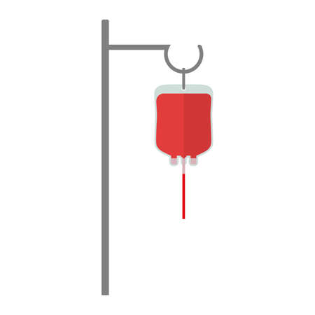 Donation, transfusion in medicine laboratory concept. Blood donation system. Imagens - 148000856