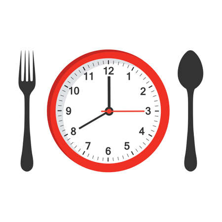 food time on the clock