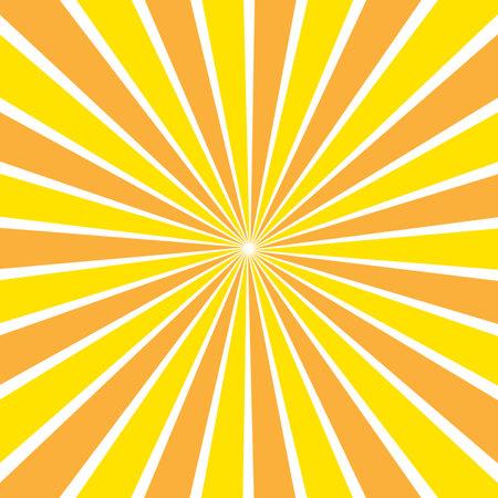 Illustration of yellow orange sunny background