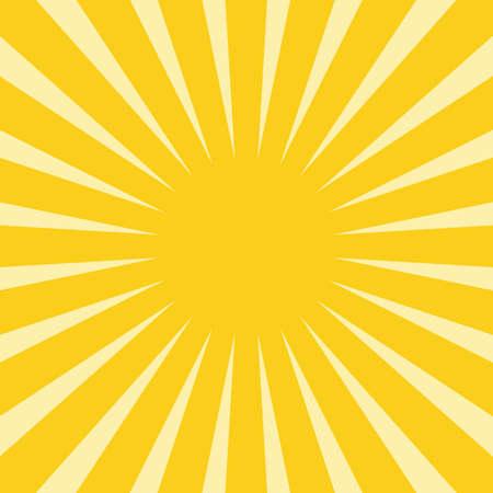Soft Yellow rays background illustration. Illusztráció