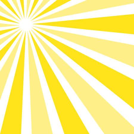 Abstract background illustration of yellow rays of light Illusztráció