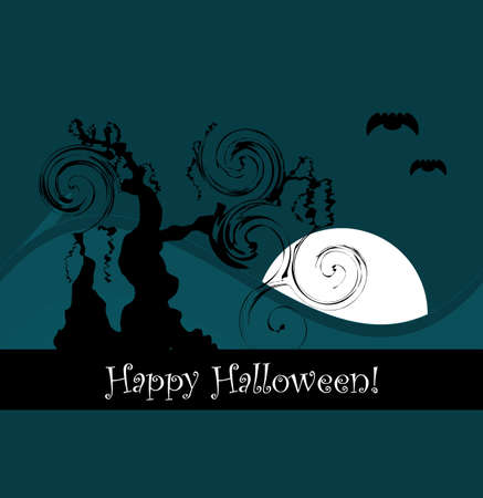 halloween design background Vector