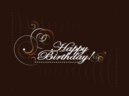 happy birthday  vector illustration Stock Vector - 17469337