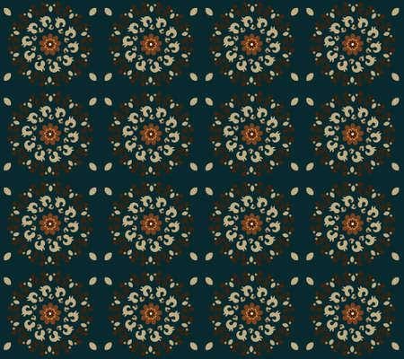 seamless texture: Muster mit Blume seamless texture