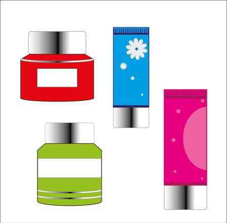 Face cream icon illustration. Stock Vector - 88721285