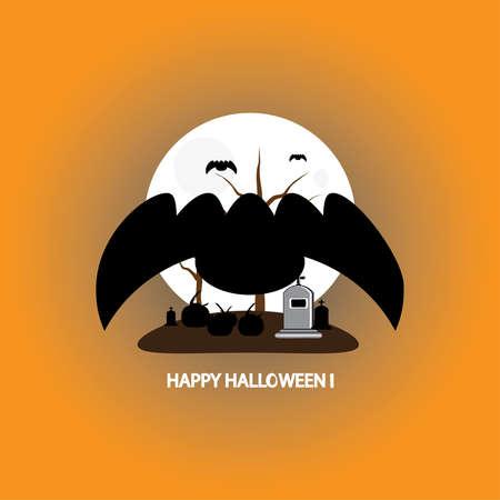 Flying bats icon.