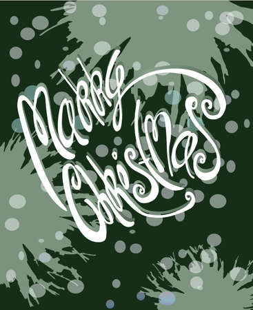 funy: Christmas background, vector illustration.