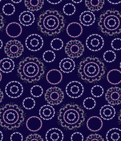 circles pattern: Circles seamless background pattern.