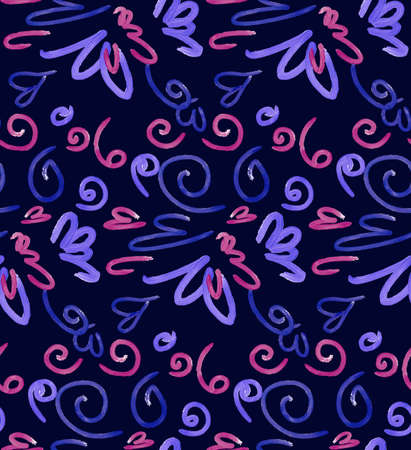 craft paper: Abstract background seamless pattern illustration. Free hand drawings .Craft paper, fabric swatch. Illustration