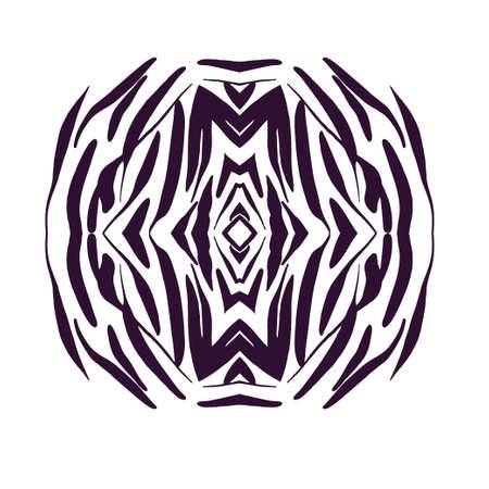 Design element hand drawn . Vector monochrome illustration for card design.