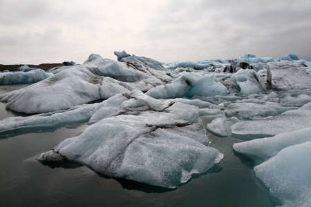 lagoon: Iceland - glacier lagoon