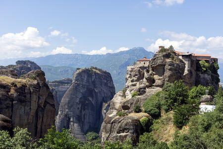 Thessaly, Greece, Meteora, monastery, mountains, mountain landscape Reklamní fotografie