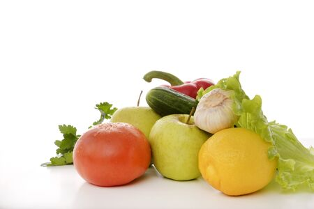 fresh vegetables Banco de Imagens