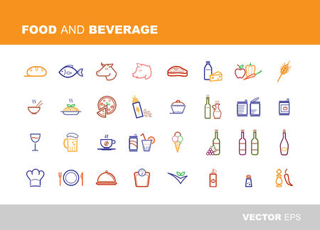 canned drink: Food and beverage icons