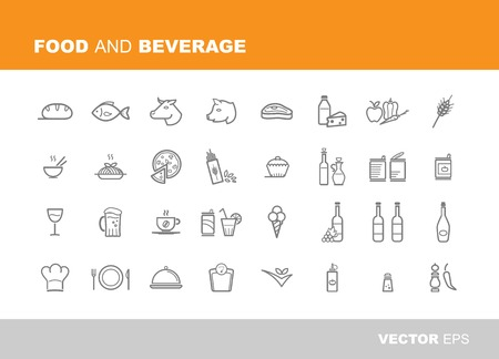 canned food: Food and beverage icons