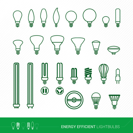 incandescent: Bulbs set