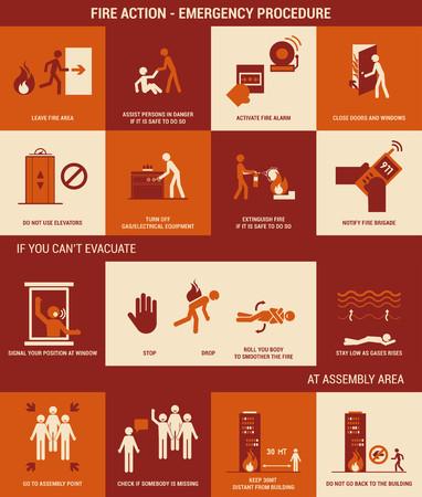evacuacion: Seguridad contra incendios